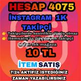 Instagram 1K takipçi