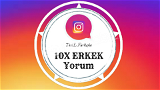10x Erkek Türk Profilden Özel Yorum