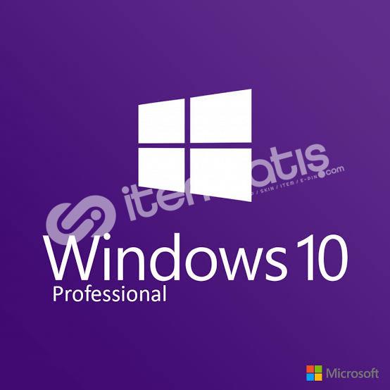 Win 10 Pro Ürün Anahtarı 32&64 Bit