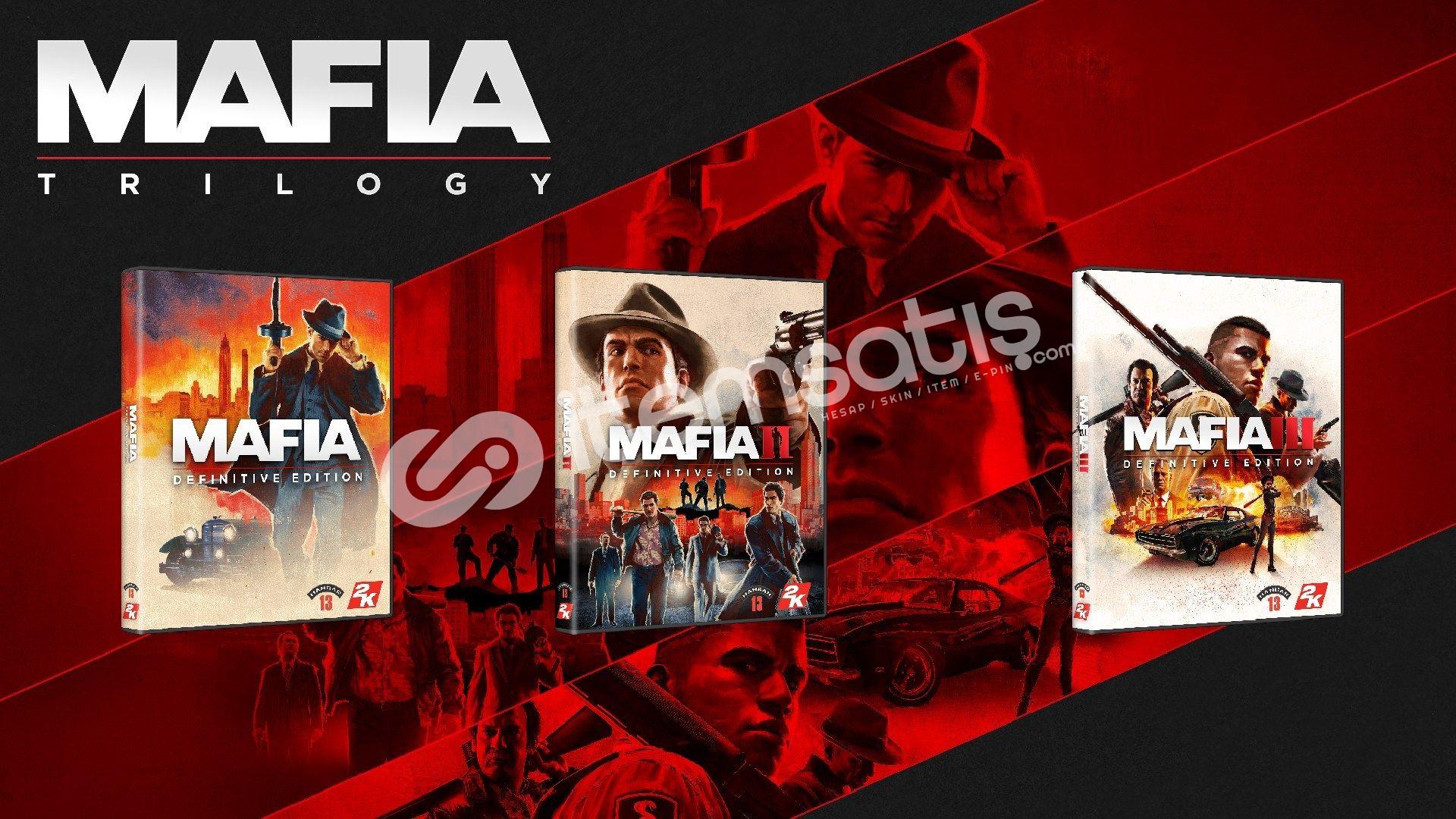 Mafia Trilogy + GARANTİ