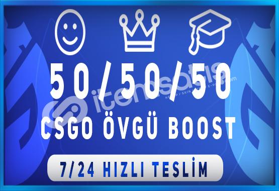 KAÇIRMA ! 150 ADET CS:GO ÖVGÜ BOOST HİZMETİ ANINDA TESLİMAT!