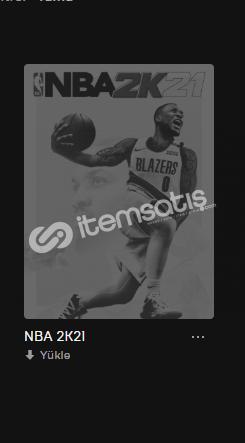 NBA 2K21 OLAN SİZE ÖZEL HESAP