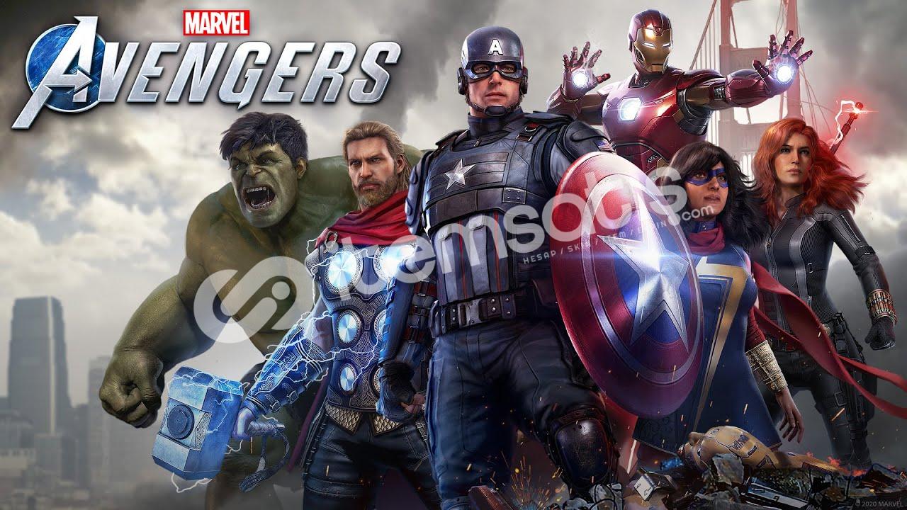 Marvel Avangers Steam + Geforce Now Destekler