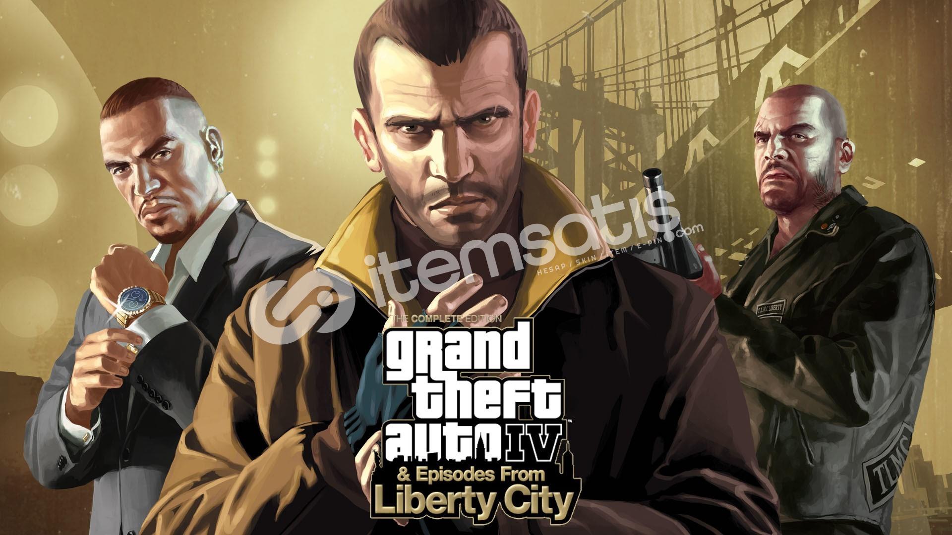 Grand Theft Auto IV: The Complete Edition + GARANTİ