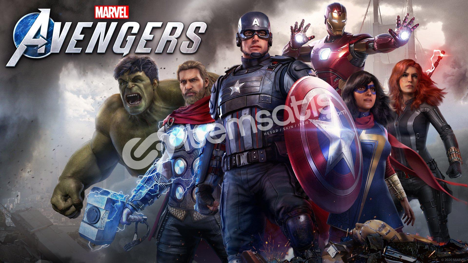 Marvel's Avengers + HEDİYE + GARANTİ + GEFORCE NOW DESTEKLER