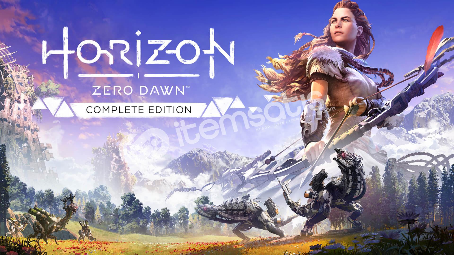 Horizon Zero Dawn Complete Edition + GARANTİ