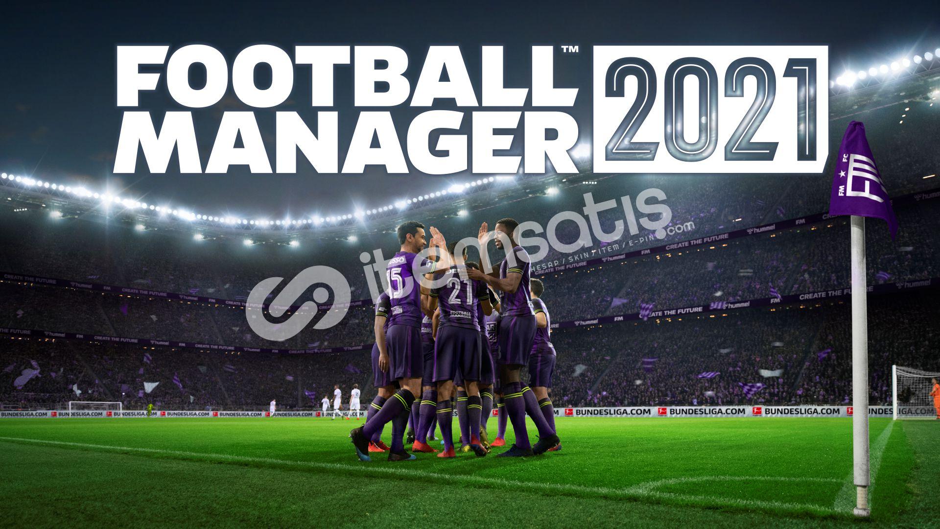 Football Manager 2021+ Touch + GARANTİ