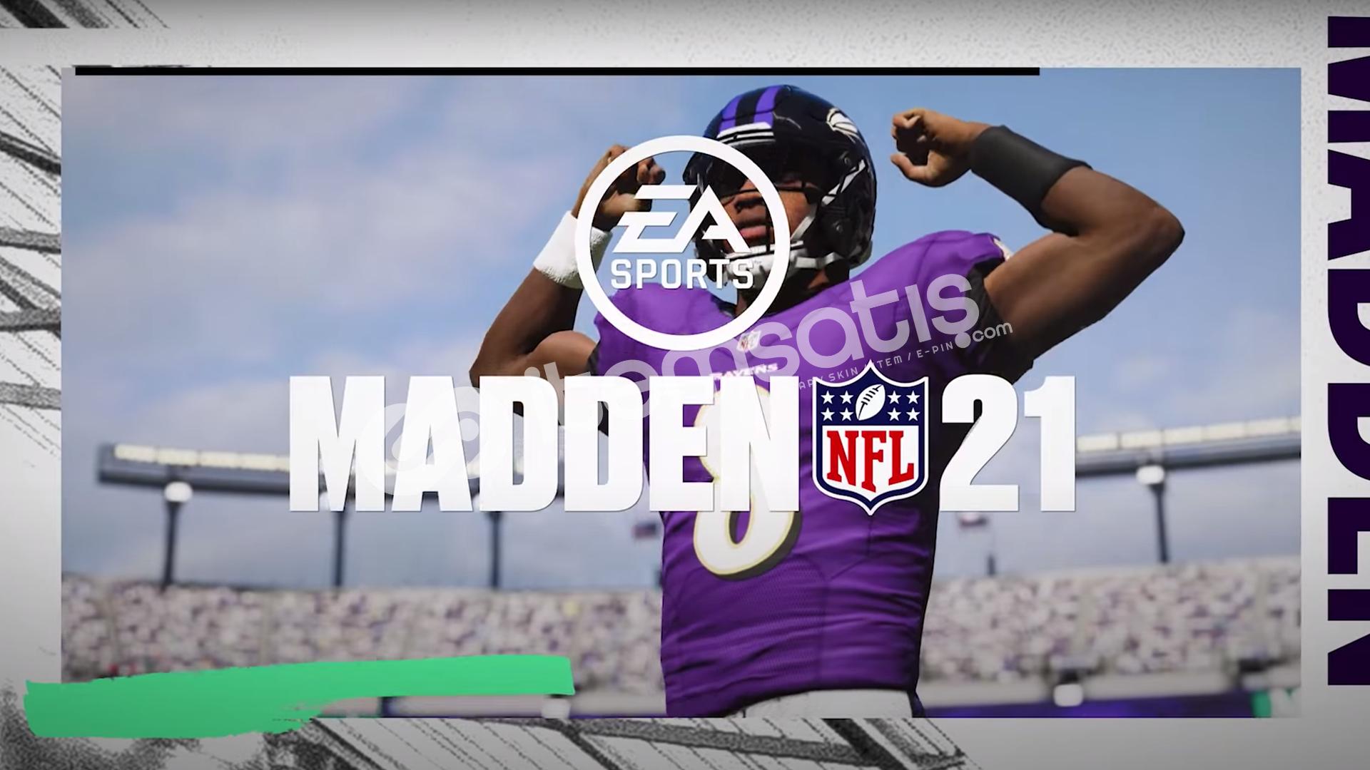 Madden NFL 21 + HEDİYE + GARANTİ