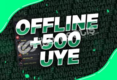 Discord Offline +500 Üye!