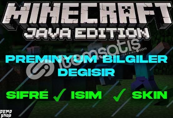 Minecraft Preminyum + Bilgileri Değişir + Bonus