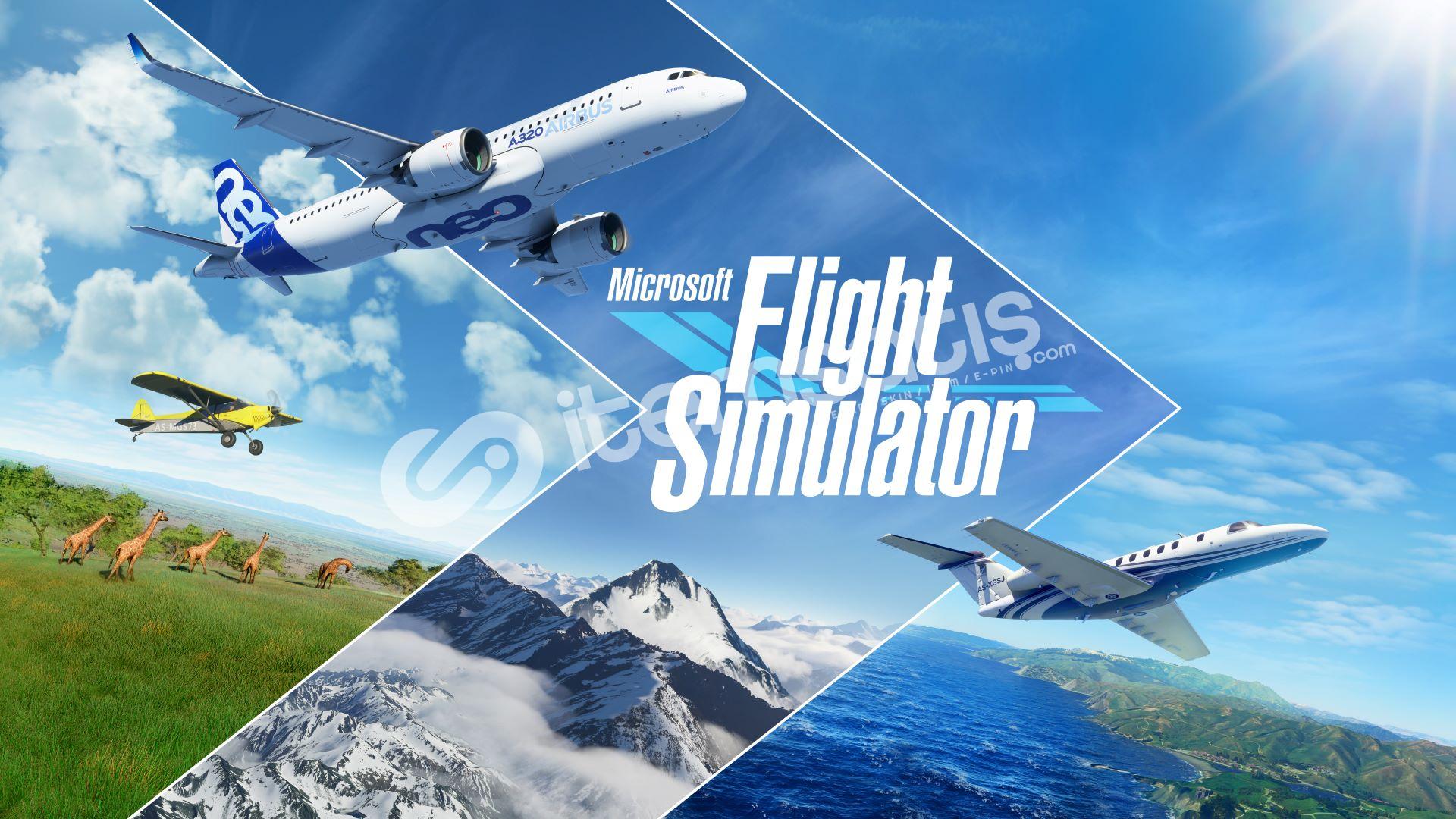 (ONLİNE) Microsoft Flight Simulator + HEDİYE + GARANTİ