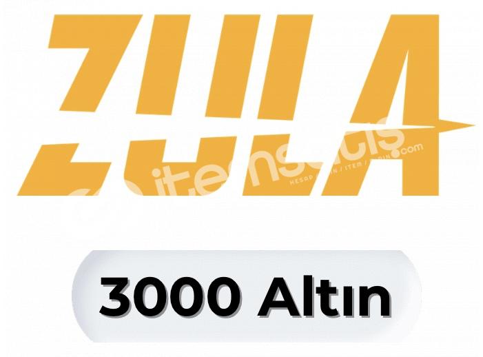 3000 ZULA ALTIN 8 TL