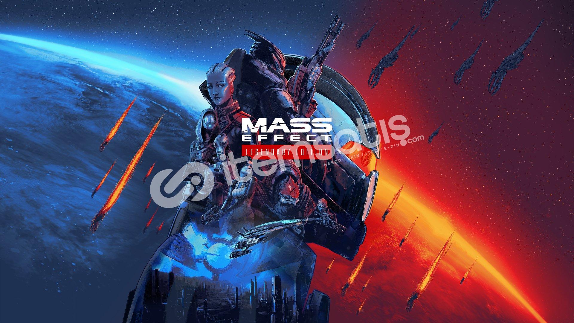 Mass Effect Legendary Edition + HEDİYE + GARANTİ