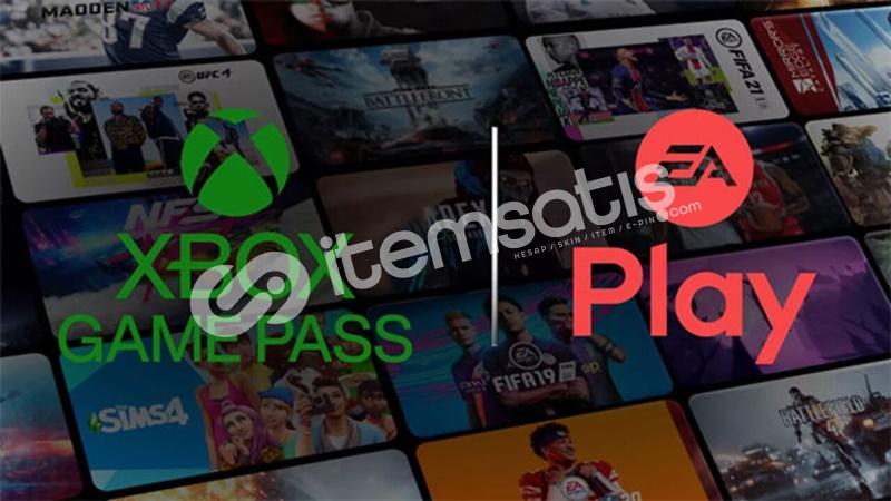 Xbox Game PASS ULTİMATE + EA PLAY HESABI