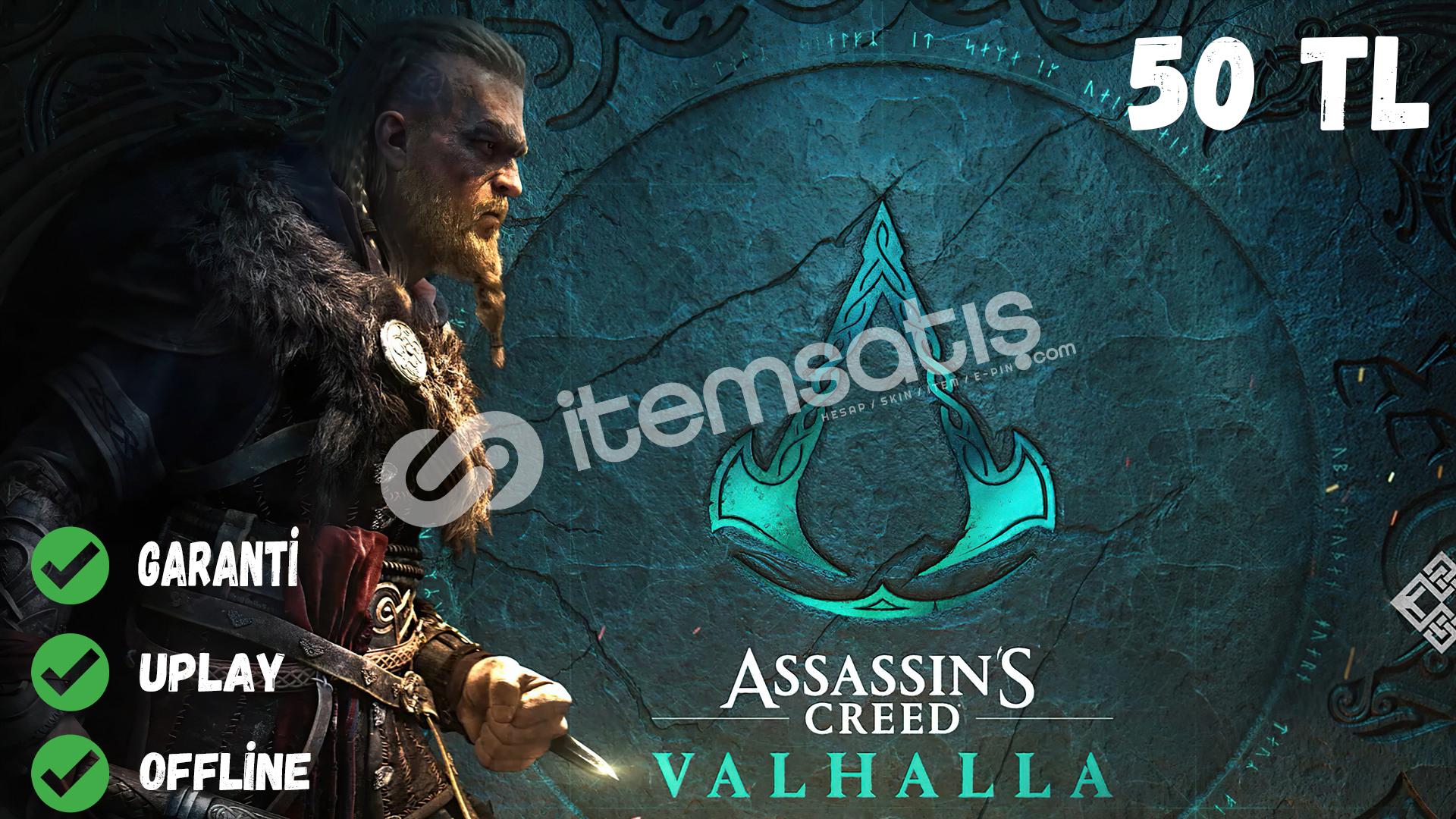 Assassin's Creed Valhalla Online Kişiye Özel Hesap