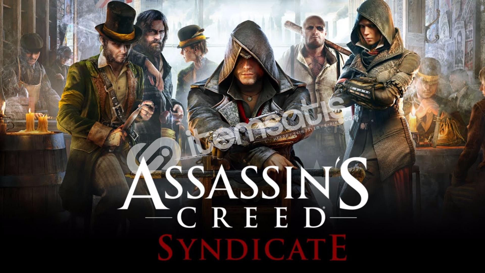 Assassin's Creed Syndicate + HEDİYE + GARANTİ + GEFORCE NOW