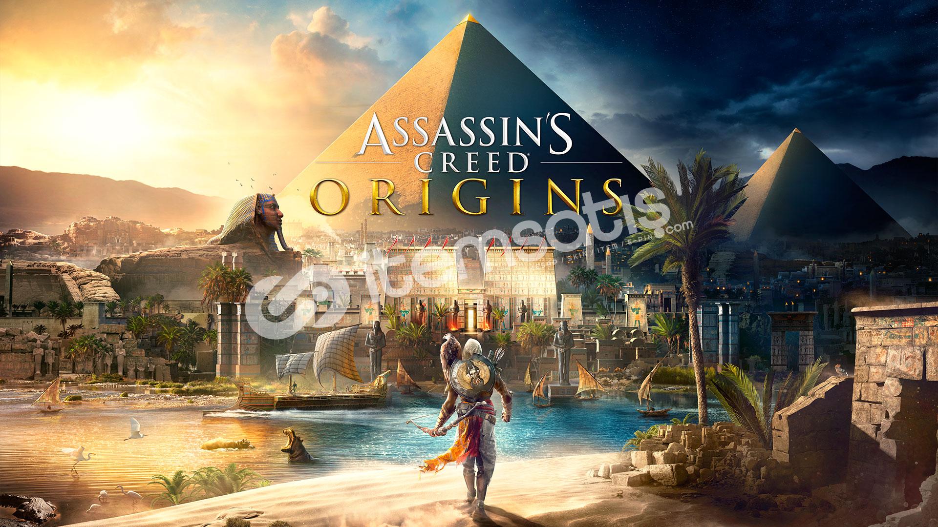Assassin's Creed Origins + HEDİYE + GARANTİ + GEFORCE NOW