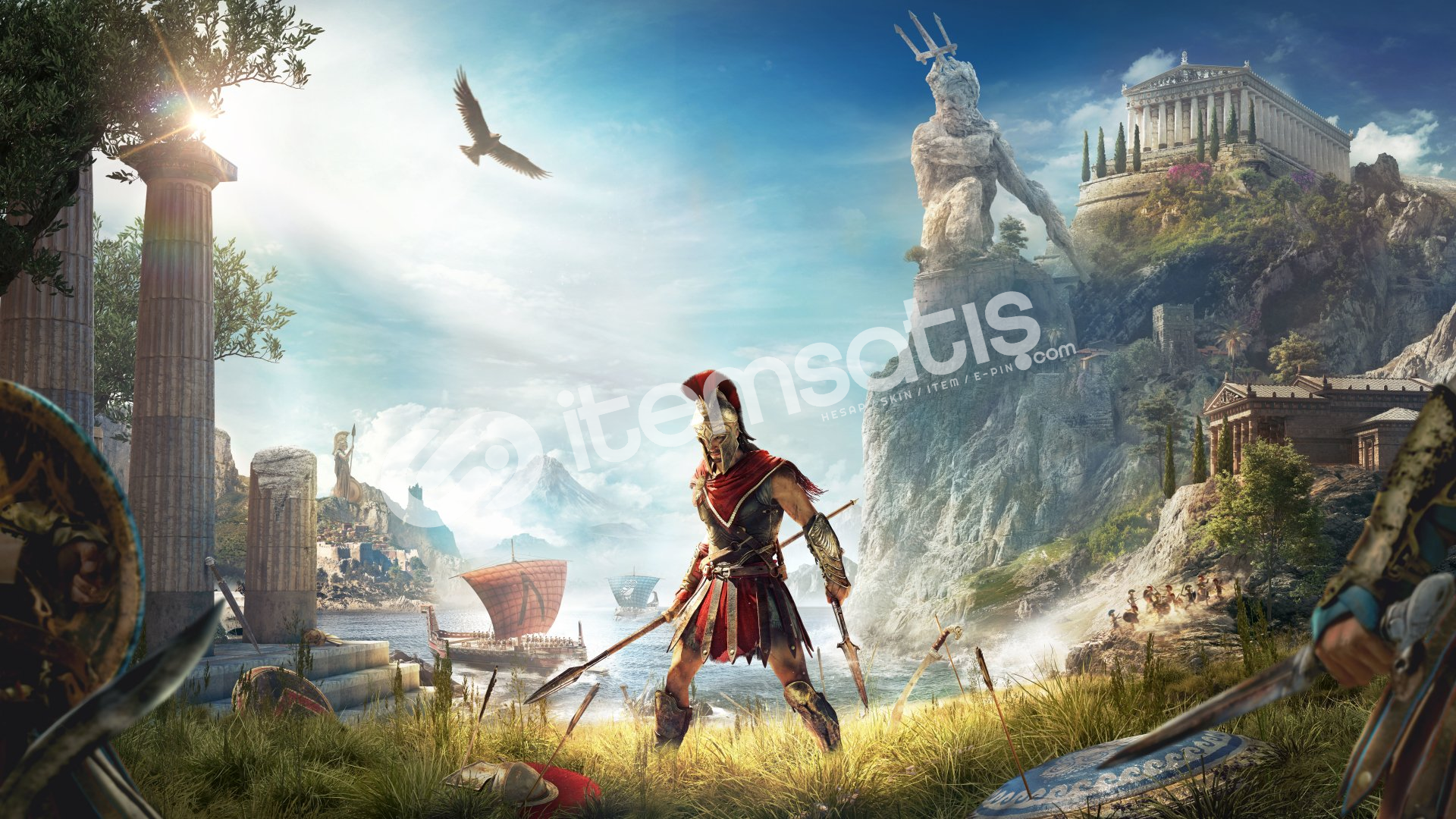 Assassin's Creed Odyssey + HEDİYE + GARANTİ