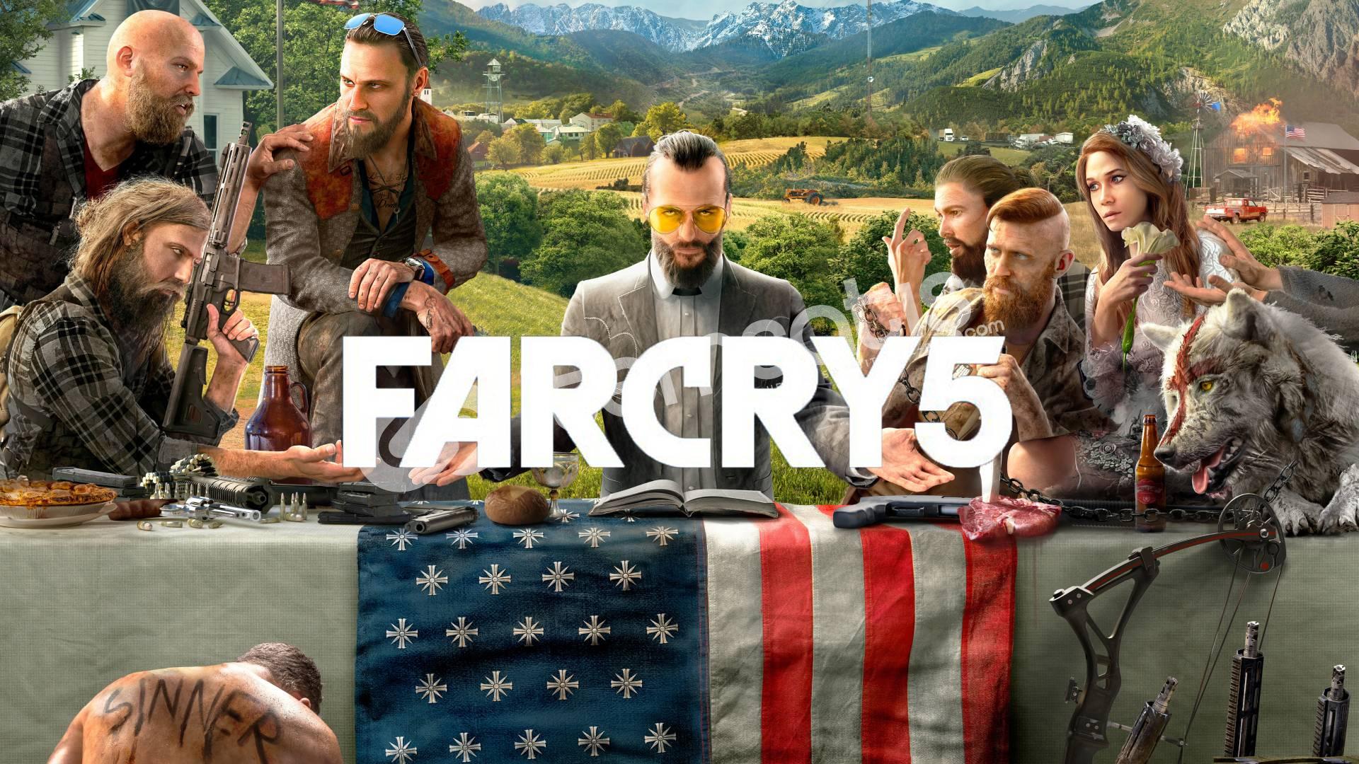Far Cry 5 + HEDİYE + GARANTİ + GEFORCE NOW DESTEKLER