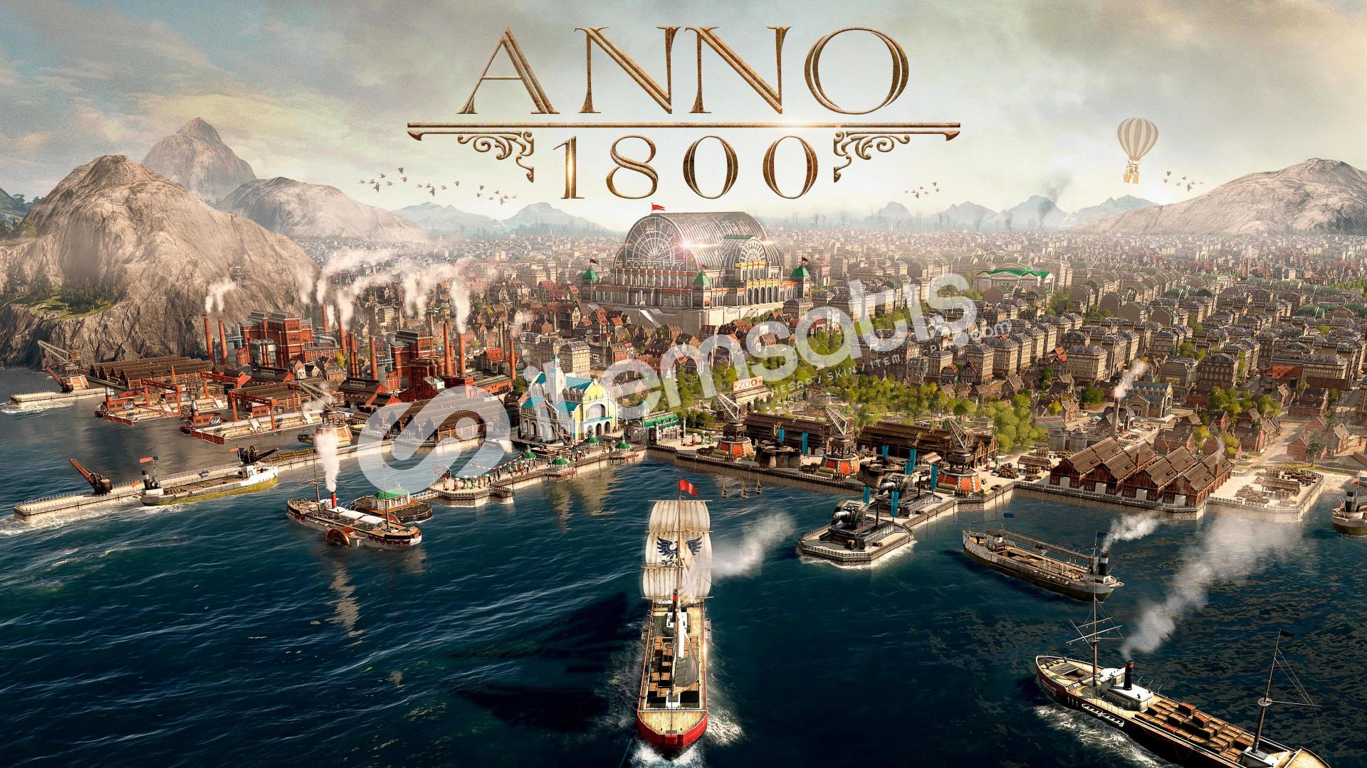 Anno 1800 + HEDİYE + GARANTİ + GEFORCE NOW DESTEKLER