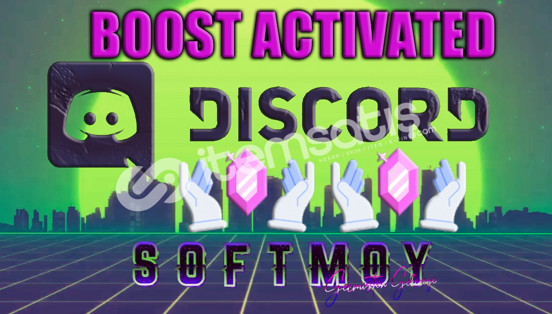 2 Boost 7GÜN + 1 adet 7/24 Aktif Discord Üyesi
