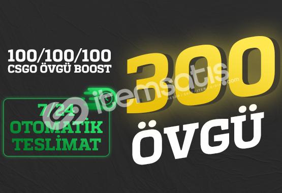 FIRSAT! 300 Övgü +100/+100/+100 ÖVGÜ BOOST