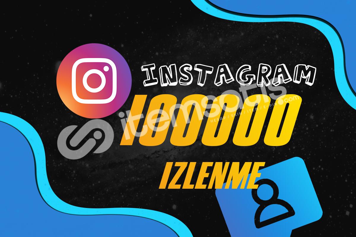 INSTAGRAM Reels İzlenme - 100000 Adet