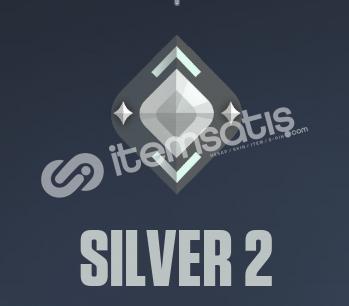 Valorant Silver 2 Rank Hesap (SKİN YOKTUR.)
