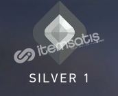Valorant Silver 1 Rank Hesap (SKİN YOKTUR.)