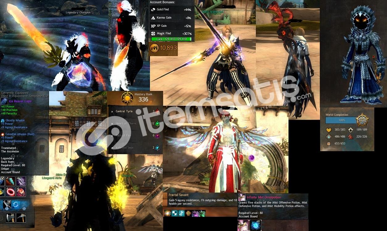 Guild Wars 2 Oyun Sonu Hesap