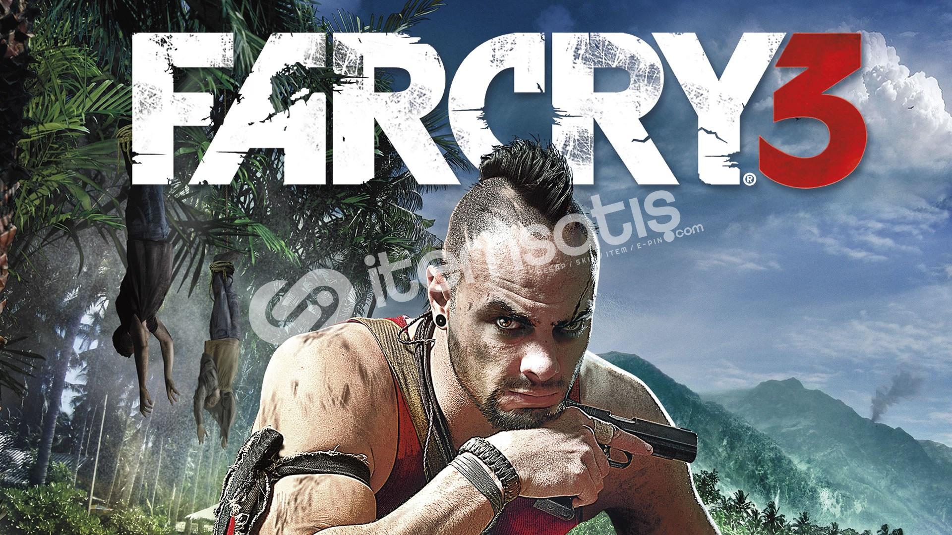 Far Cry 3 + HEDİYE + GARANTİ + GEFORCE NOW DESTEKLER