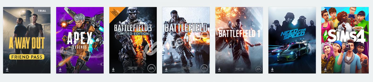 Battlefield 1 - Yanında bir kaç oyun daha.