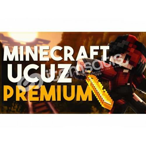 Minecraft Random Ucuza Premium Hesaplar HEDİYELİ !!
