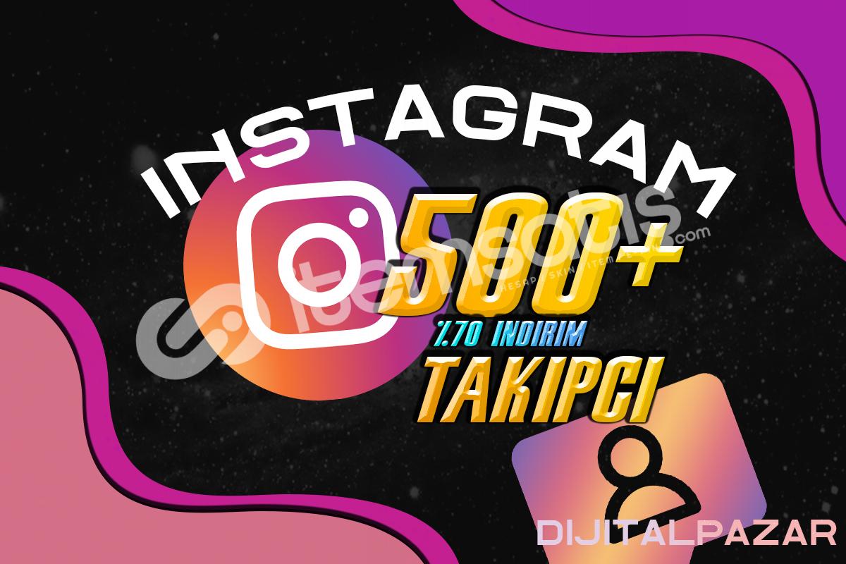 INSTAGRAM 500++ TAKİPÇİ AÇILIŞA ÖZEL FİYAT