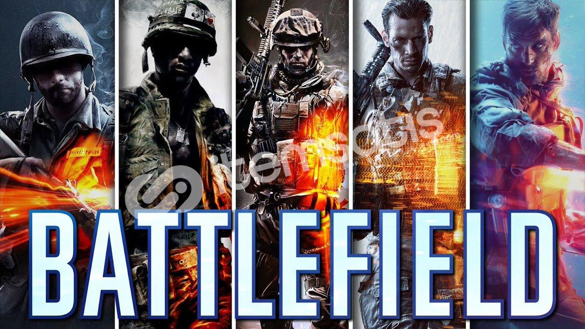 Battlefield Serisi + 50 oyun + Hediye