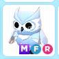 Roblox Adopt Me MFR Snow Owl