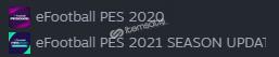 Pes 2021, 2020'li steam hesabı!!