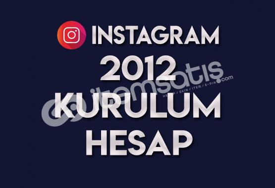 2012 KURULUM SIFIR HESAP