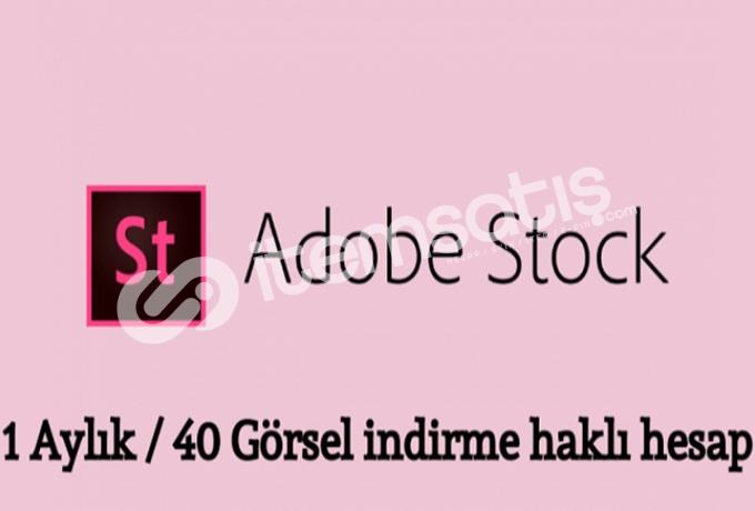 Adobestock 1 Aylık 40 Görsel İndirmeli Hesap