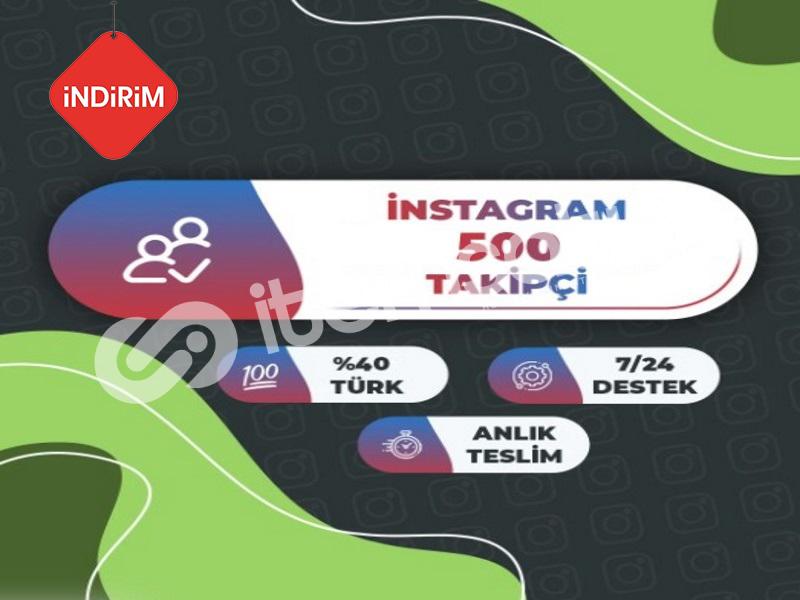 İNDİRİM 500 Instagram Takipçi Paketi