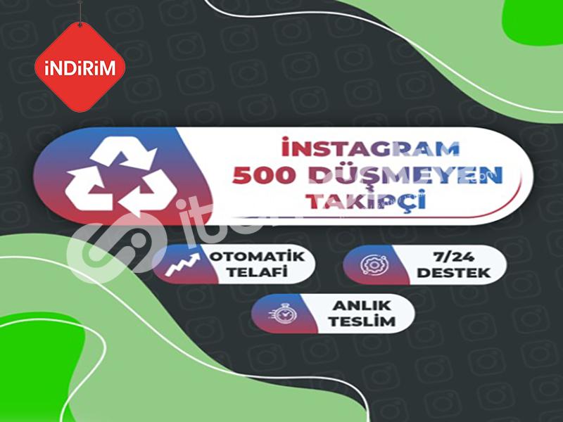 İNDİRİM 30 GÜN Garanti 500 Instagram Takipçi Paketi