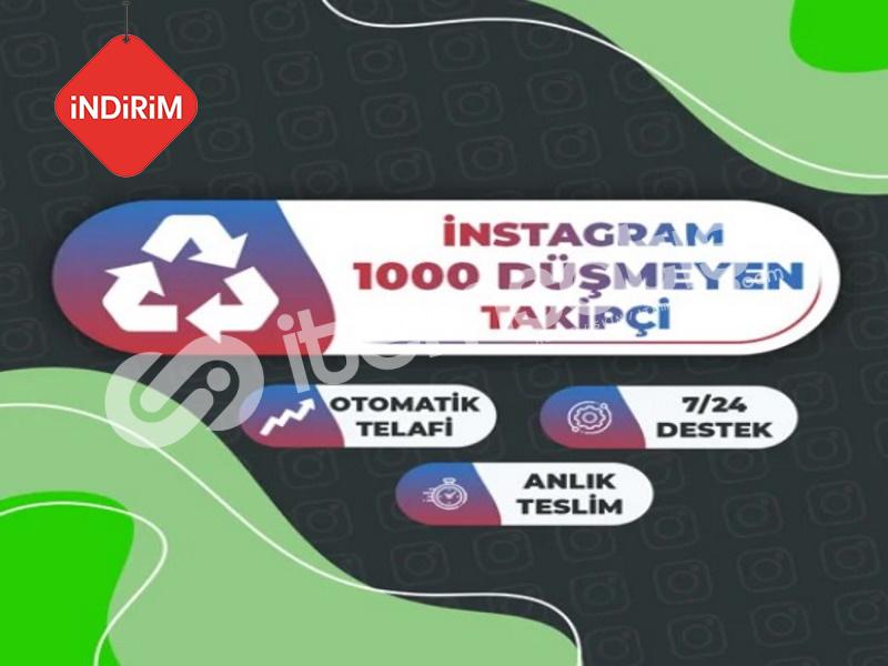 İNDİRİM 30 GÜN Garantili 1.000 Instagram Takipçi Paketi