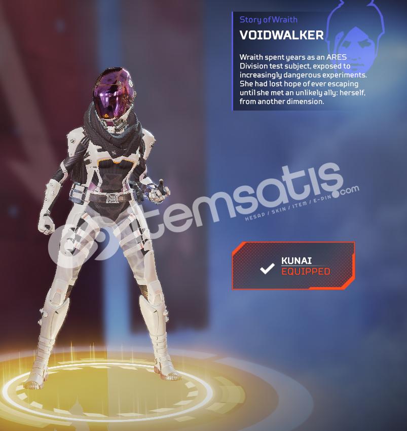 Wraith hairloom Voidwalker skin 10 legendry
