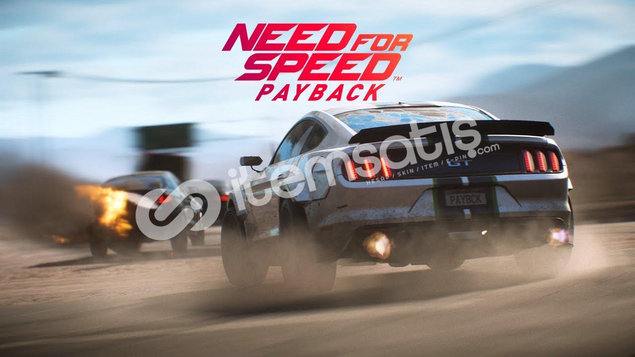 Need for Speed Payback + Mail [veri değişikliği]