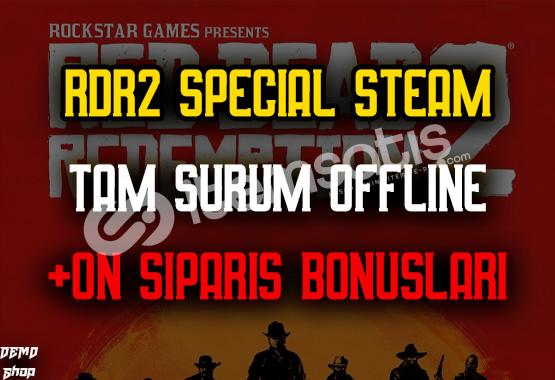 Red Dead Redemption 2 Special + Ömür Boyu Hesap