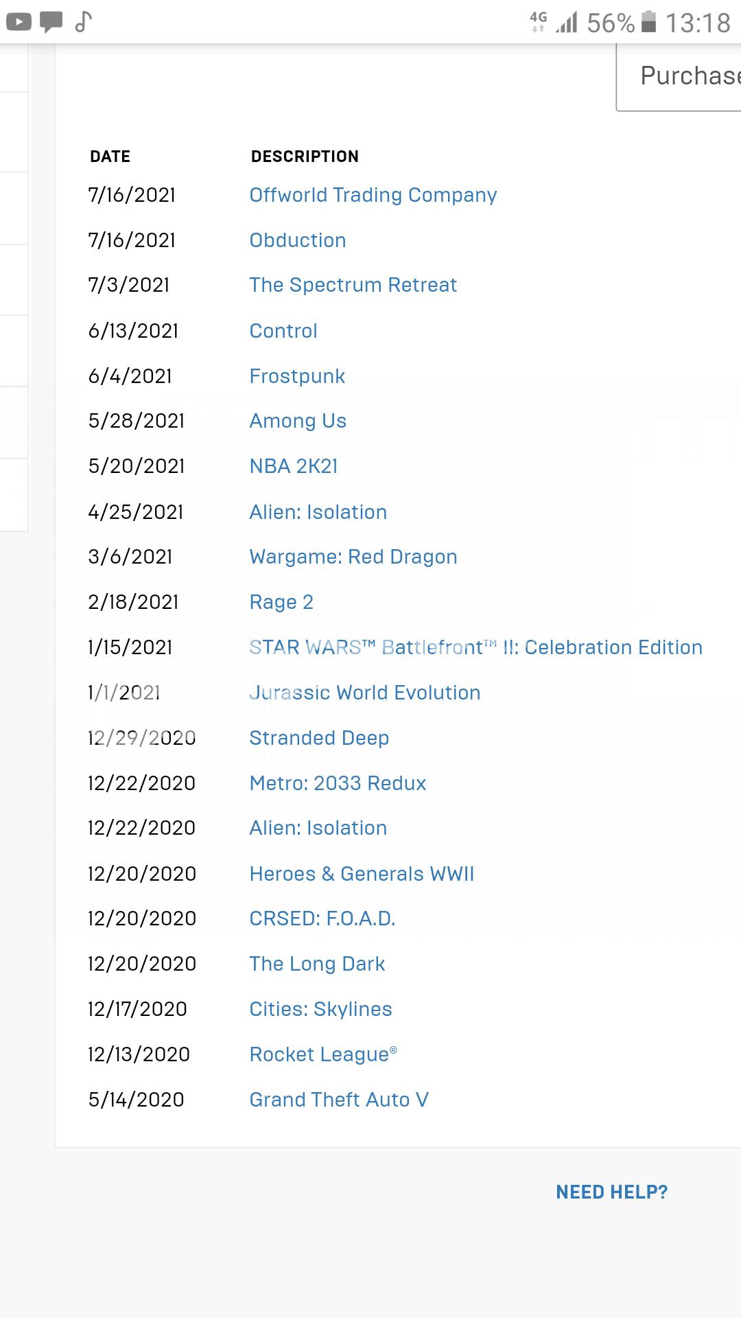 Epic Games Store Satılık Hesap !