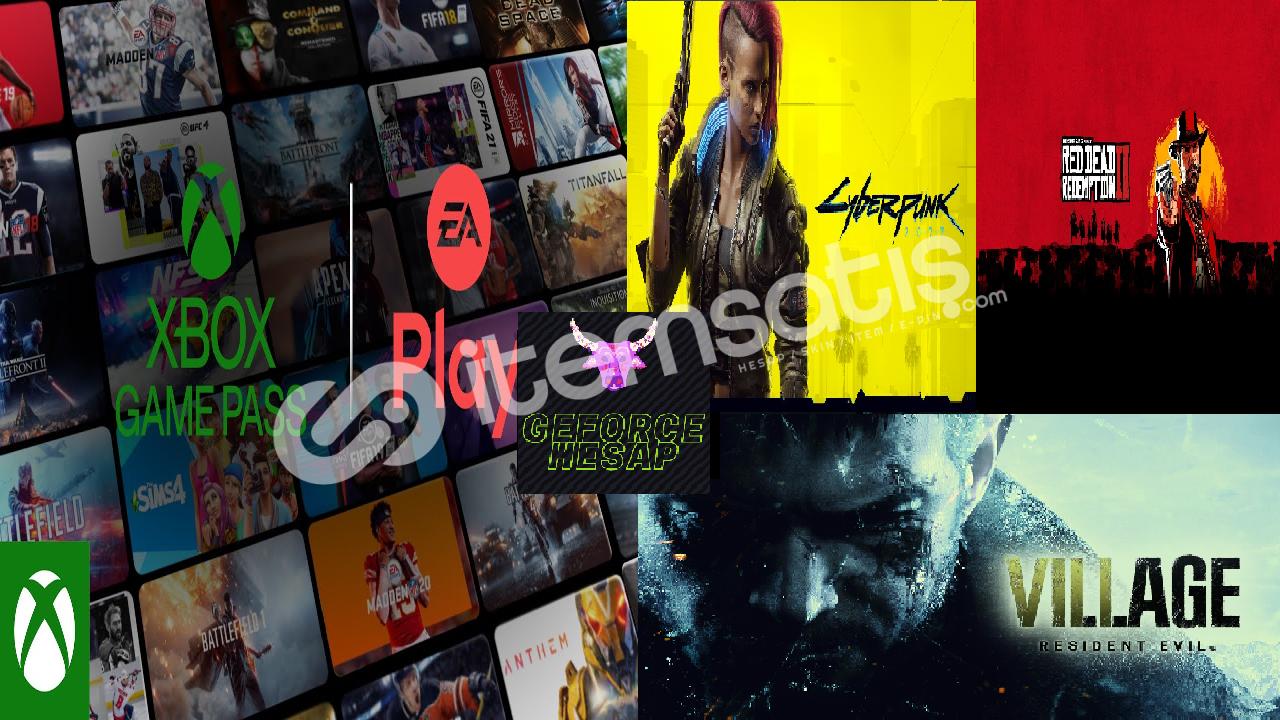 Online Gamepass Ultimate+Ea play+REV+Rdr2+Cyberpunk 2077