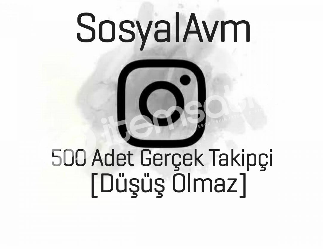 500 Gerçek Takipçi [Düşüş Olmaz !]Kampanya