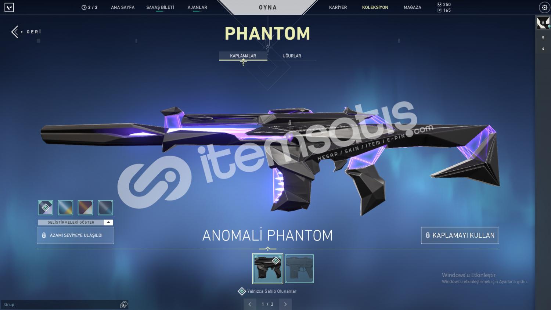 Anomali phantom ve battlepass hesap UCUZ