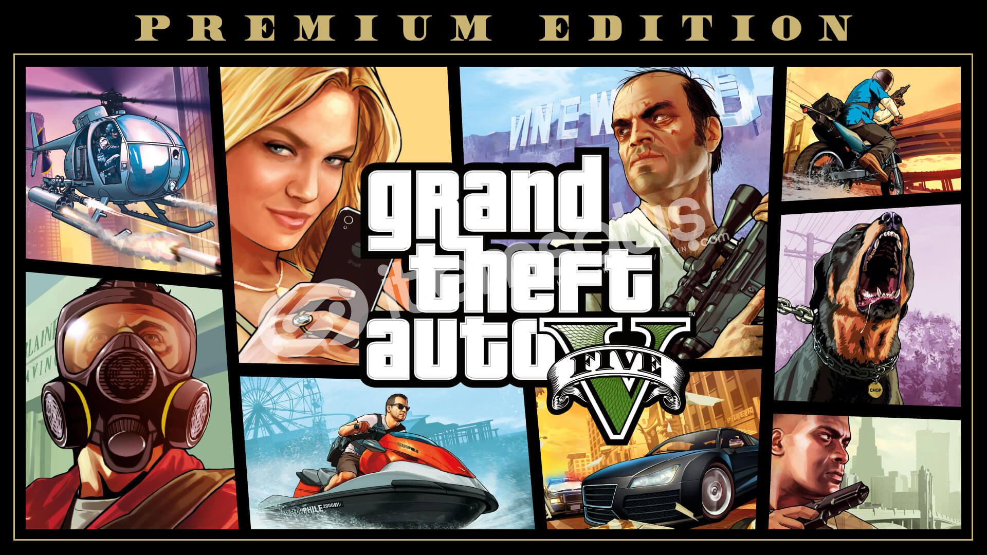 GTA 5 Premium Edition + Mail [veri değişikliği]